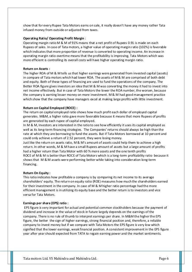tata motors hbr case profitability 2018-2-6 turnaround strategy starting to work:  seasonality and improved profitability, said ralph  turnaround strategy starting to work: tata motors.