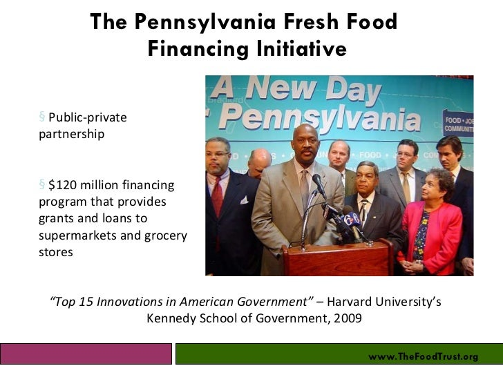 Healthy Food Financing Initiative Grants