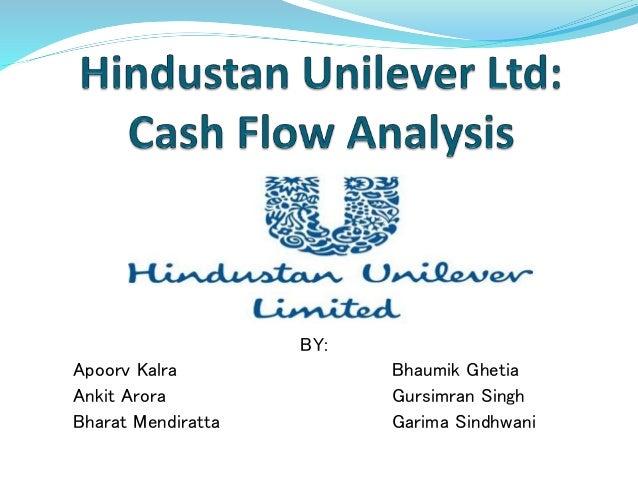 Cash flow analysis of hindustan unilever