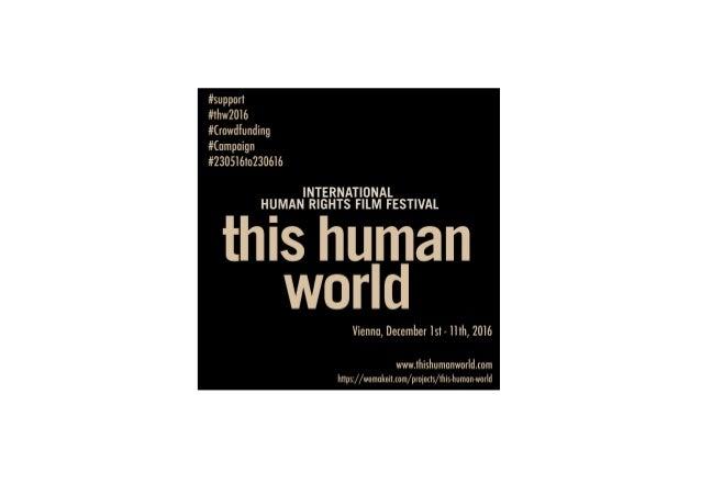 this  human  world        Crowdfunding  Belohnungen