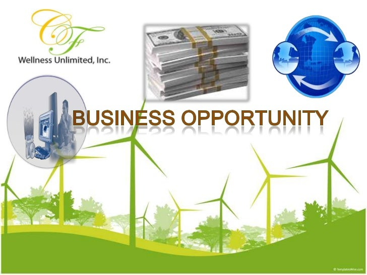 BUSINESS OPPORTUNITY<br />