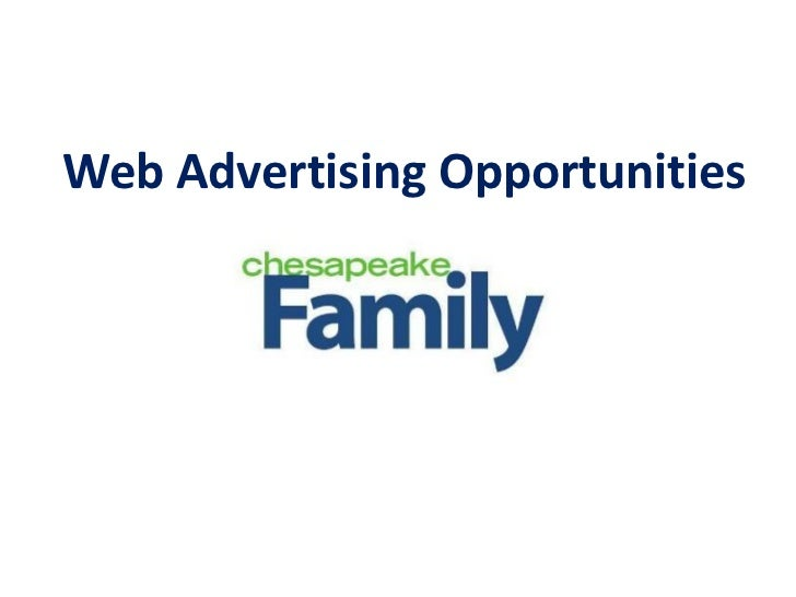 Web Advertising Opportunities