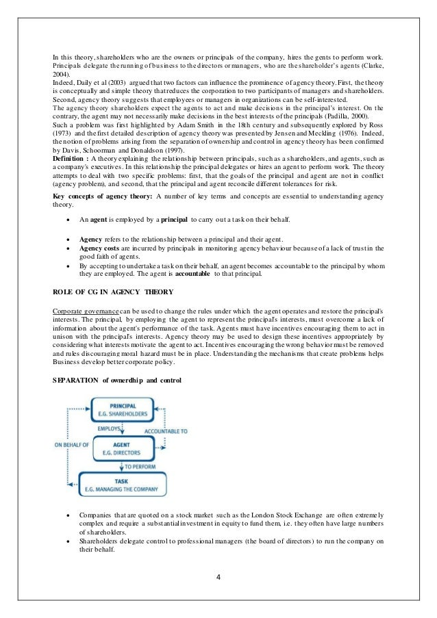 Corporate governance notes