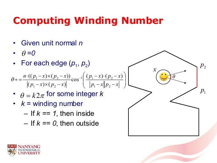 A Tutorial on Computational Geometry