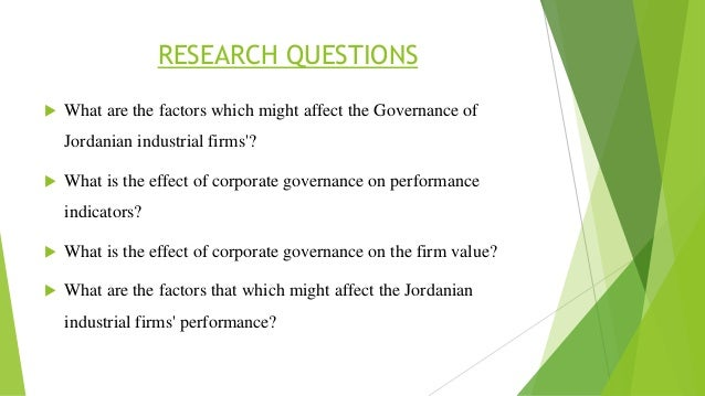 Corporate Governance and Agency Theory