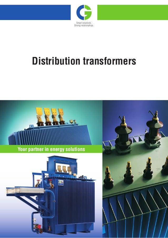 Cg distribution-transformers