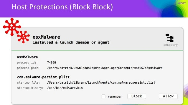 #RSAC Host Protections (Block Block)