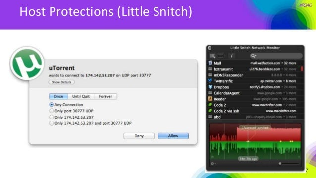 #RSAC Host Protections (Little Snitch)