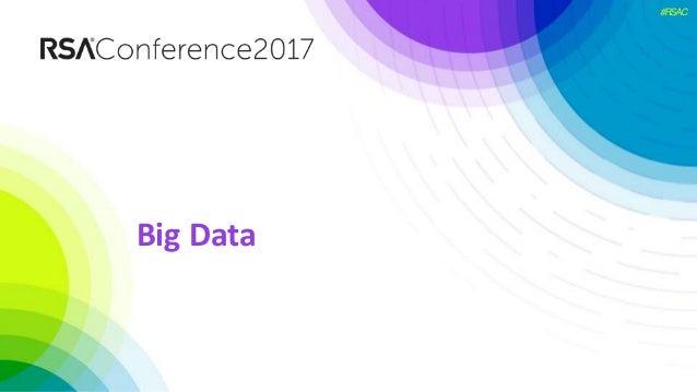 #RSAC Big Data