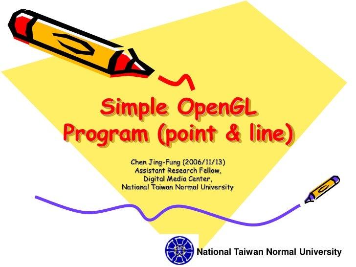 Bresenham Line Drawing Algorithm Opengl : Cg simple opengl point line course