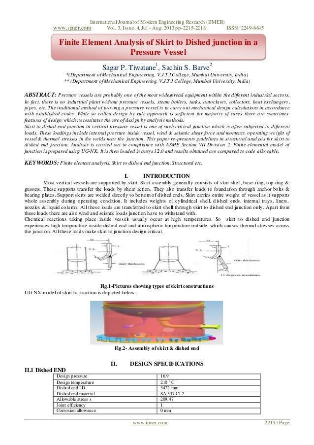 International Journal of Modern Engineering Research (IJMER) www.ijmer.com Vol. 3, Issue. 4, Jul - Aug. 2013 pp-2215-2218 ...