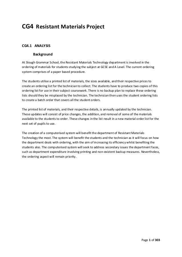 computing cg4 coursework