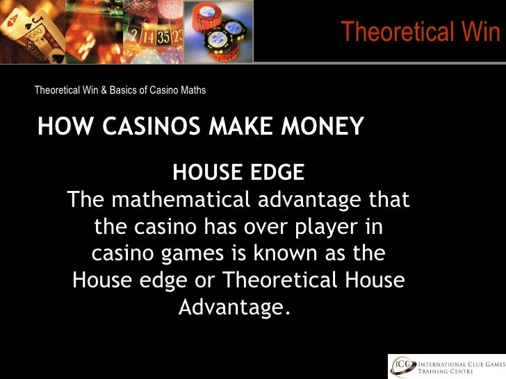 Casino game table theoretical win antique++gambling+equipment