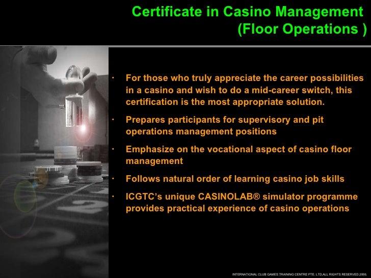 Casino management training taj mahol casino