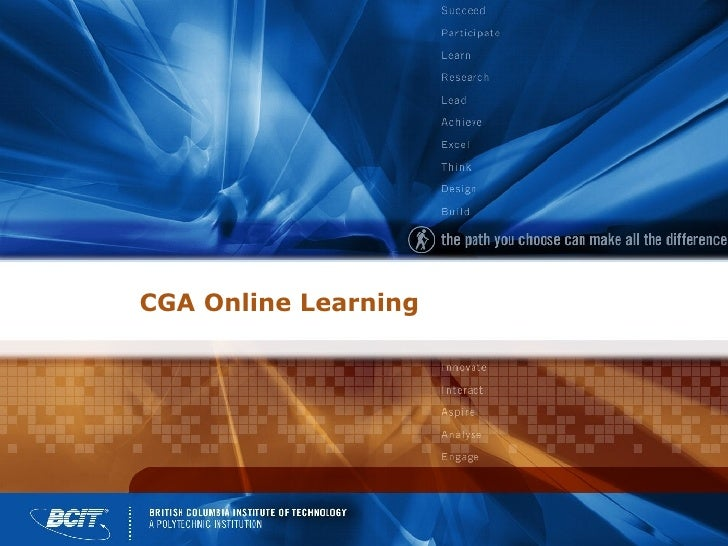 CGA Online Learning