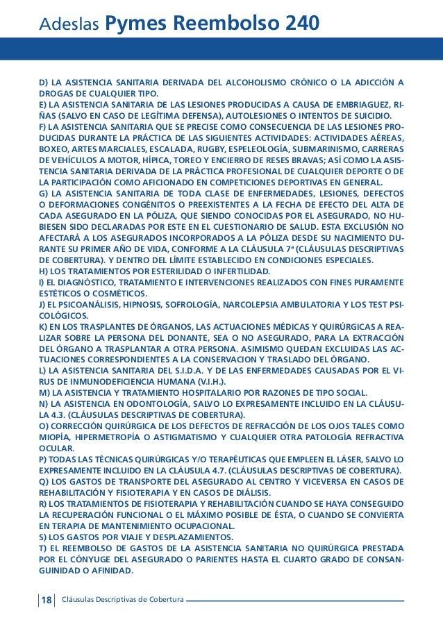Condiciones generales adeslas pymes reembolso 240 tu for Clausula suelo oficina directa