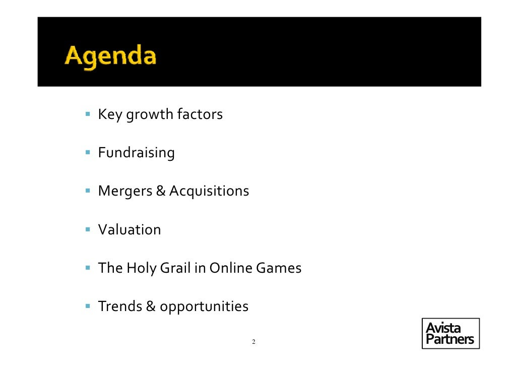 Casual Games; A Strategic Review of the Sector Slide 2