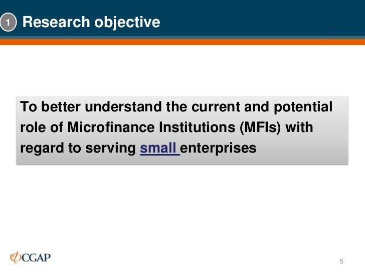 a study of the microfinance institutions Microfinance study - free download as pdf development indian institute of foreign trade integrated rural development program microenterprise best practices microfinance institutions micro and small enterprises mysore resettlement and development agency national bank for agriculture and.
