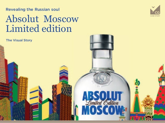 Revealing the Russian soul Absolut Moscow Limited edition The Visual Story