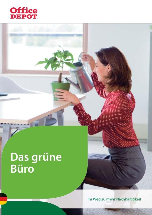 1Das grüneBüroIhr Weg zu mehr Nachhaltigkeit