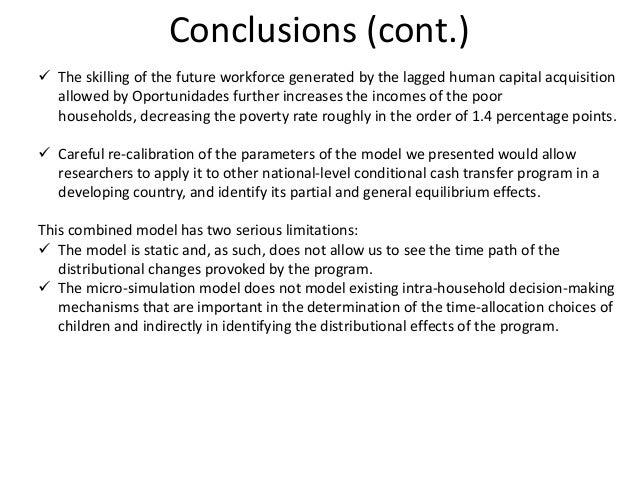 Mexicos model conditional cash transfer essay