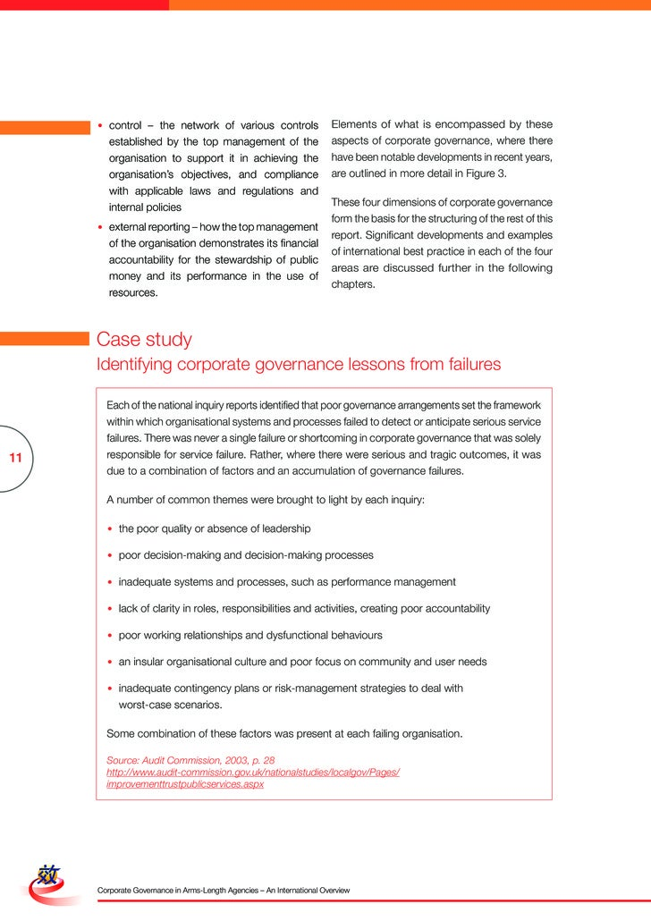 Figure 3 Dimensions of corporate governance      Dimension                       Recommendations on governance     1. Stan...