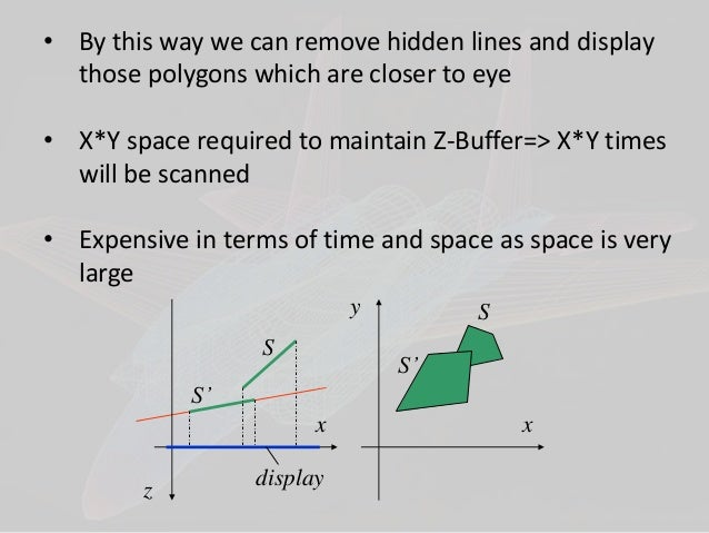 visible surface detection methods in computer graphics in english