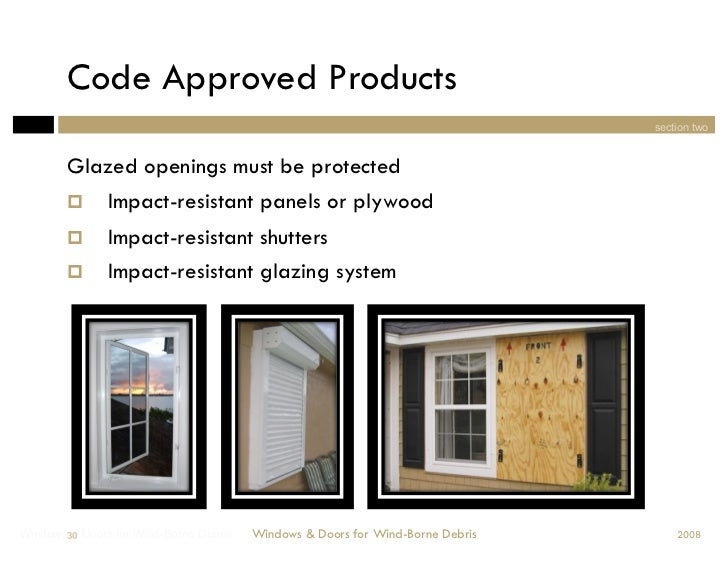 Windows Amp Doors For Wind Borne Debris