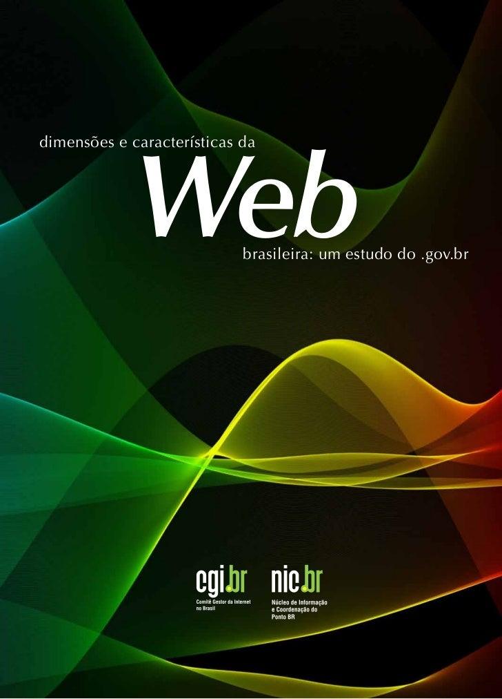 Webdimensões e características da                            brasileira: um estudo do .gov.br