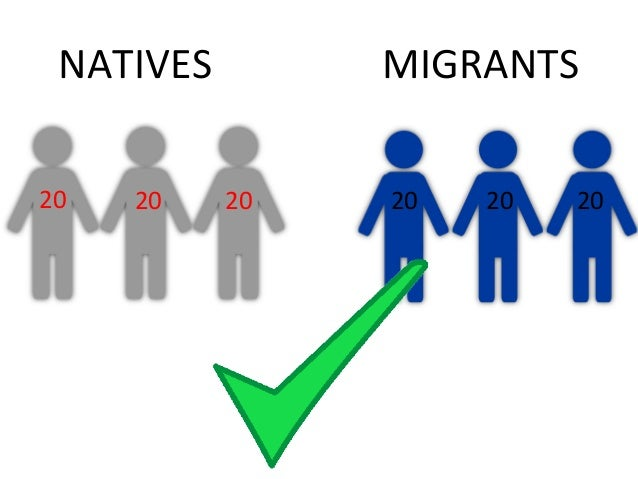 """NO   Research on UK shows that""""[…] immigration does not lead to  an outflow of natives […]"""" but      there is """"[…] evidenc..."""