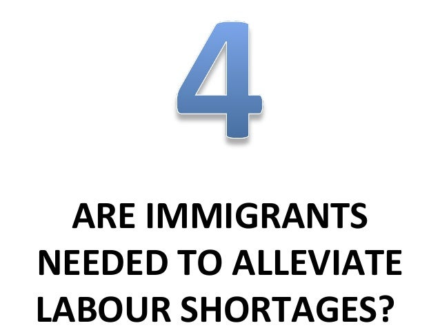 """""""We need immigrants to work in some sectors of our economy"""":     percentage which completely agree or tend to agree       ..."""