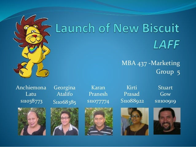MBA 437 -Marketing Group 5 Anchiemona Latu s11038773 Georgina Atalifo S11068385 Karan Pranesh s11077774 Kirti Prasad S1108...