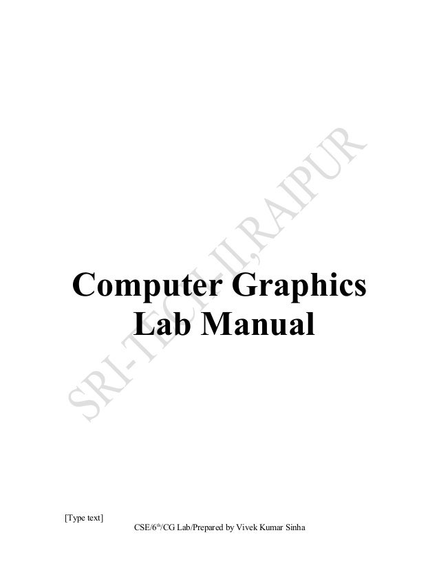 computer graphics lab manual rh slideshare net lab manual of computer graphics Computer Class Clip Art