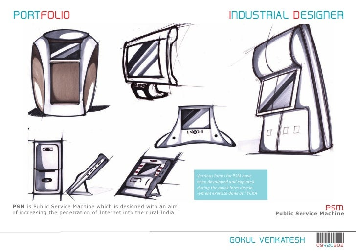 Industrial design thesis project