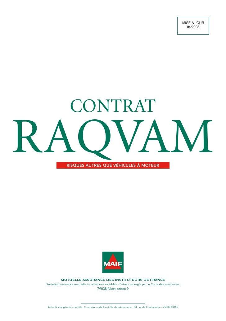 Cg Raqvam Maif