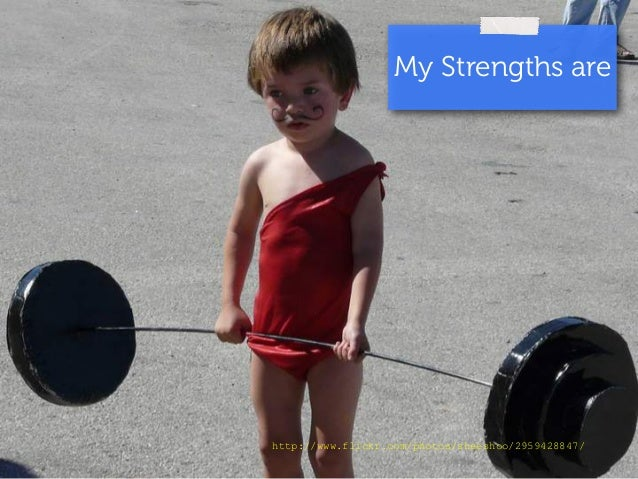 My Strengths are  http://www.flickr.com/photos/sheeshoo/2959428847/