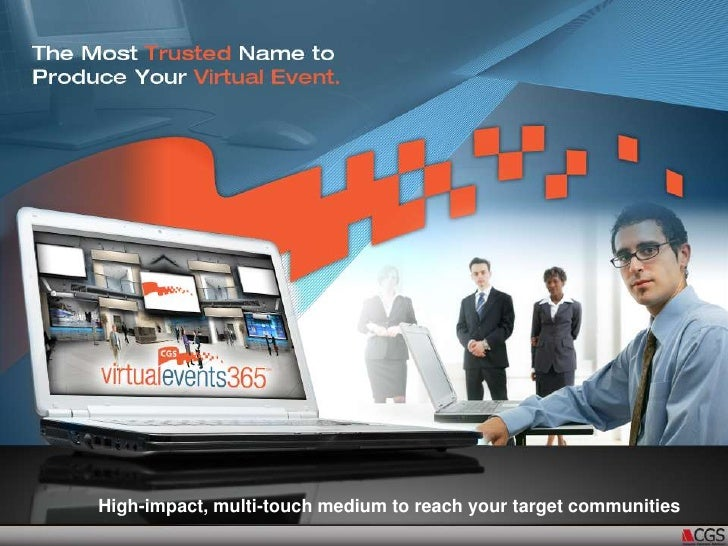 High-impact, multi-touch medium to reach your target communities<br />
