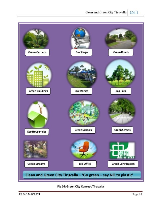 how to keep city clean and green