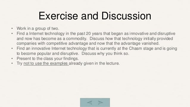 information technology innovation essay Free sample essay on computer technology: since the beginning of time technology has helped us out as a human race from the invention of the wheel to the.