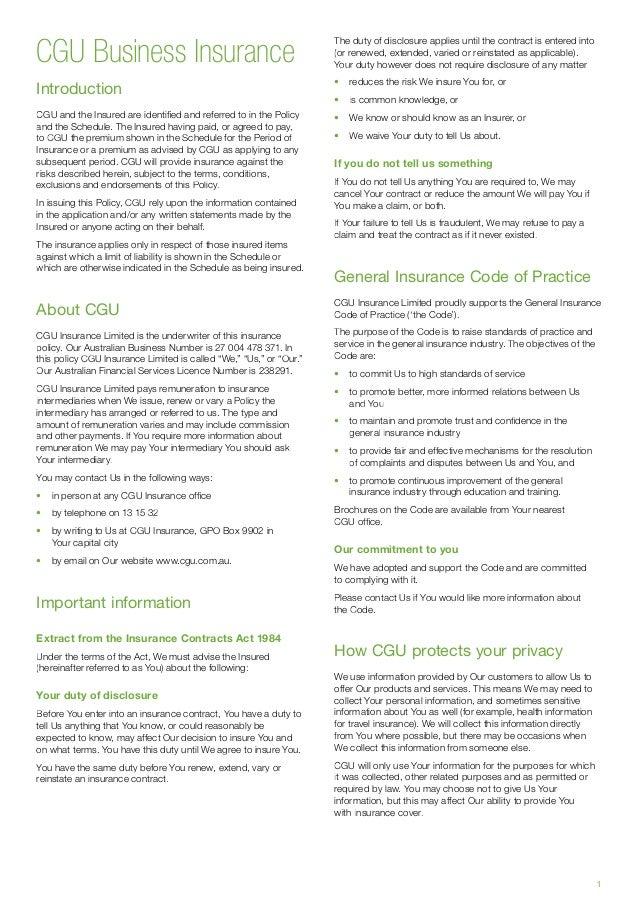 Cgu Travel Insurance Contact
