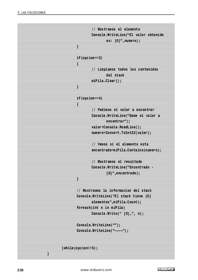 C# guia total del programador