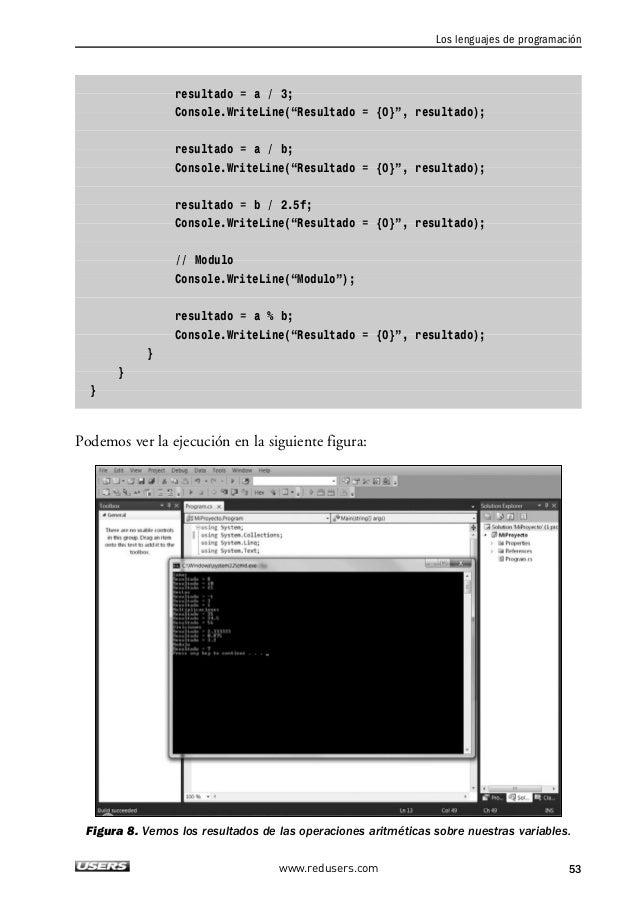 2. LOS ELEMENTOS BÁSICOS DE UN PROGRAMA  Precedencia de operadores  Hasta el momento hemos utilizado expresiones aritmétic...