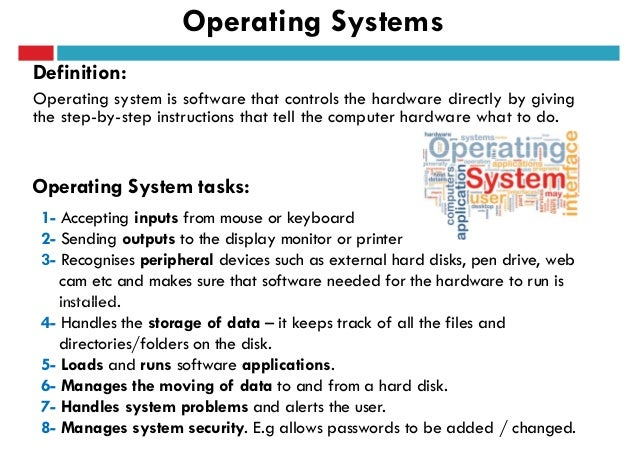 Operating system term paper