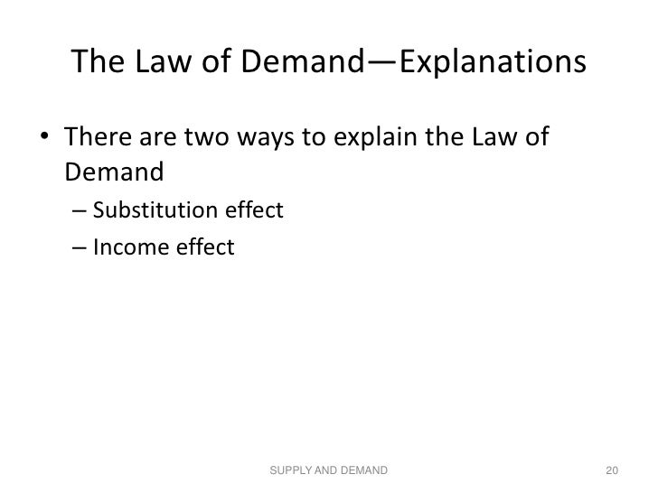explain the income effect
