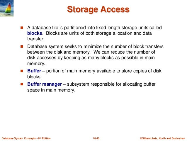 database system concepts by sudarshan korth pdf