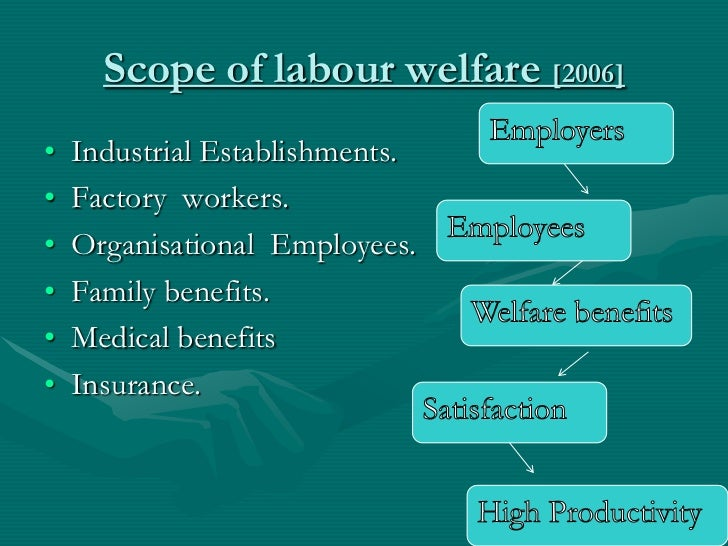 Voluntary statutory welfare
