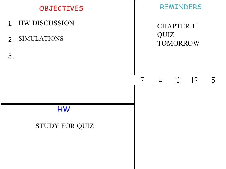 hw ch 11 Ch 11 hw ch 11 hw due: 9:30am on monday, april 25, 2016 you will receive no credit for items you complete after the assignment is due.