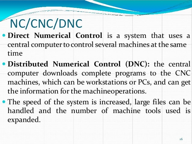 nc and cnc dp