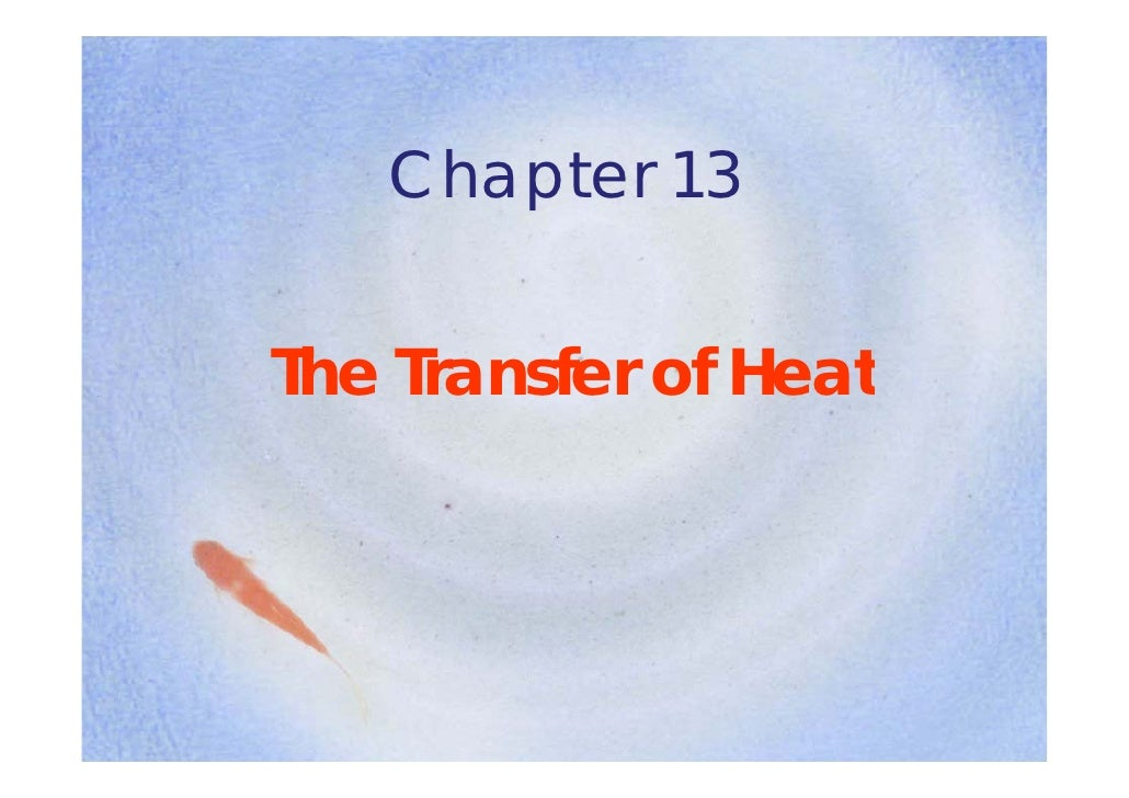 CONDUCTION • Conduction is the process   whereby h t is transferred     h    b heat i t     f    d   directly through a ma...
