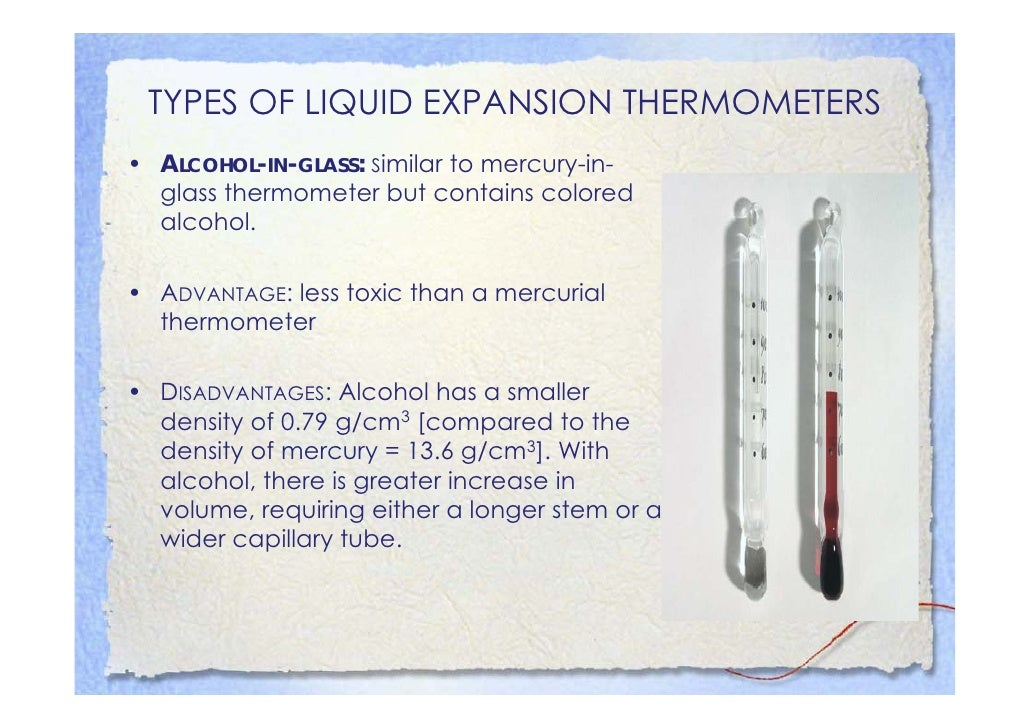 TYPES OF CLINICAL THERMOMETERS -                  INDIRECT • THERMOCOUPLE: A thermocouple consists of   two junctions at t...